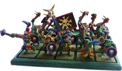 Savage Orc regiment, metals 1993