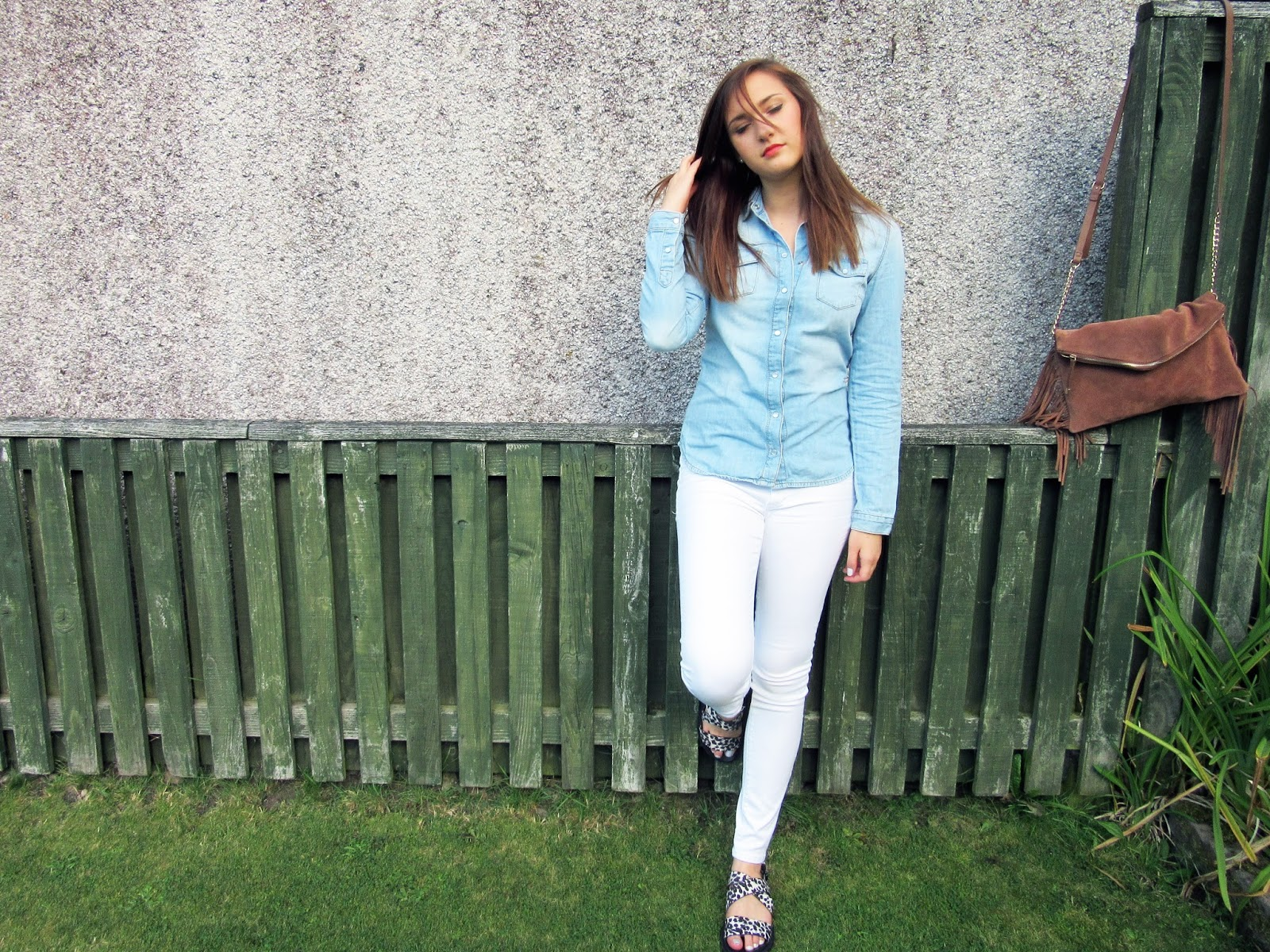 Double Denim OOTD // Lauren Rose Fashion Blogger Style UK London