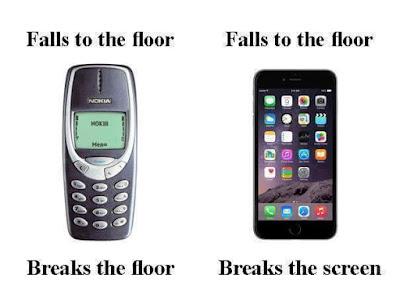 nokia vs smartphone