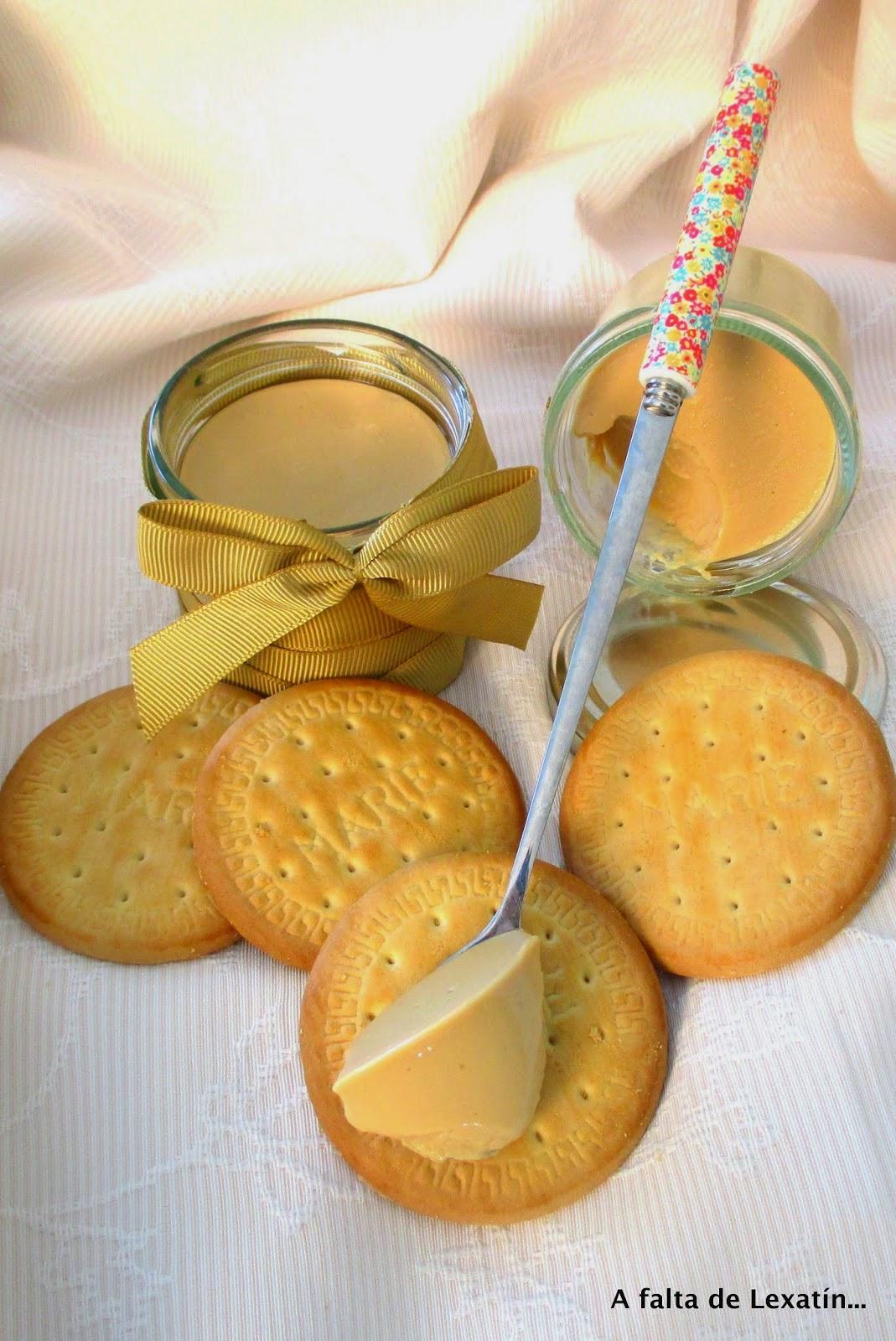 Cuajada de Galletas y Dulce de leche