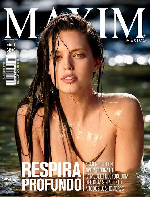 Emily Didonato Revista Maxim México Septiembre 2015