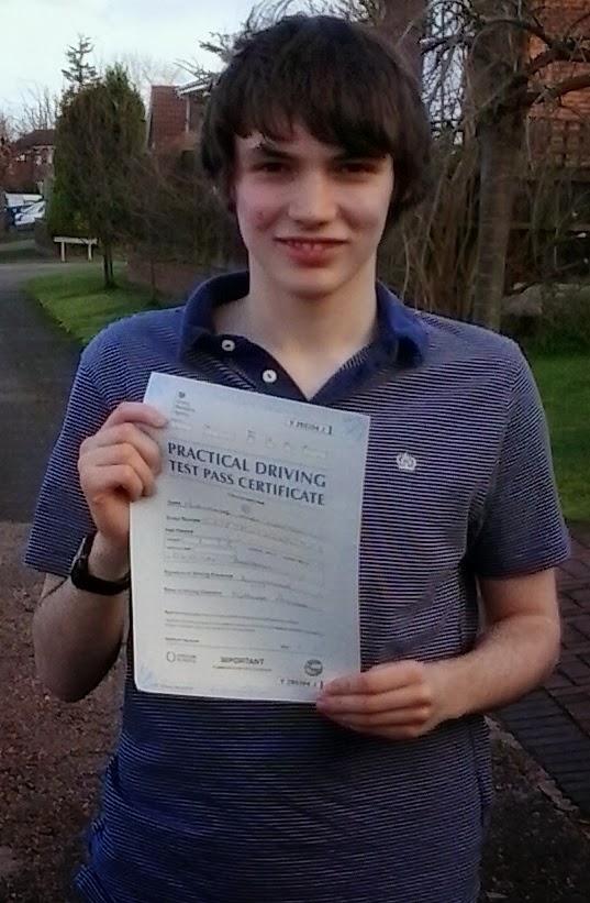 driving lessons Nottingham test pass