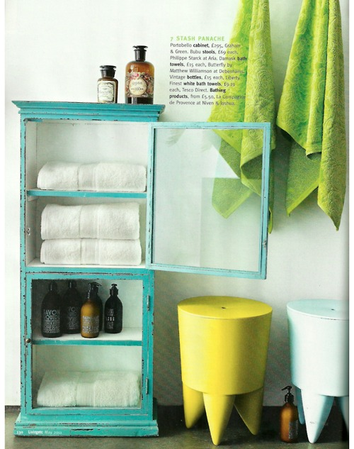 Down and out chic interiors lime green lemon yellow for Bright green interiors