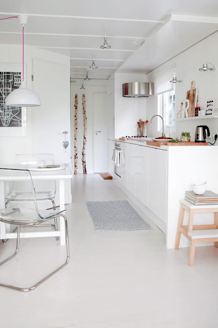 Scandinavische Design Keuken : Scandinavian Cottage Kitchen