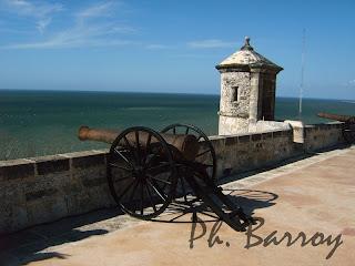 paysages du Mexique Campeche Yucatan fort San Miguel blog voyage photo