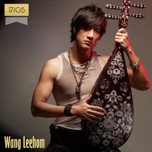 17 de mayo | Wang Leehom - @wangleehom | Info + vídeos