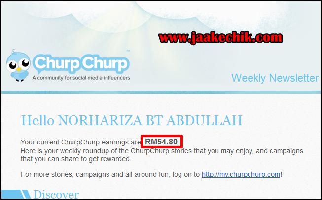 churpchurp, buat duit dengan blog, buat duit melalui churpchurp, tips blogging, earning blog,