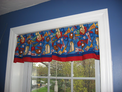 How to Make a Fast, Easy and Cute Window Valance ~ A Picture Tutorial