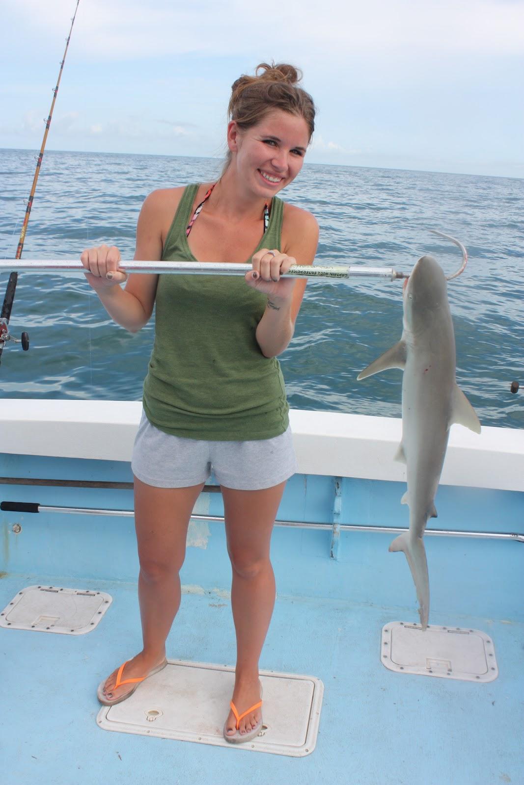 Show me the fish charters celebrating shark week