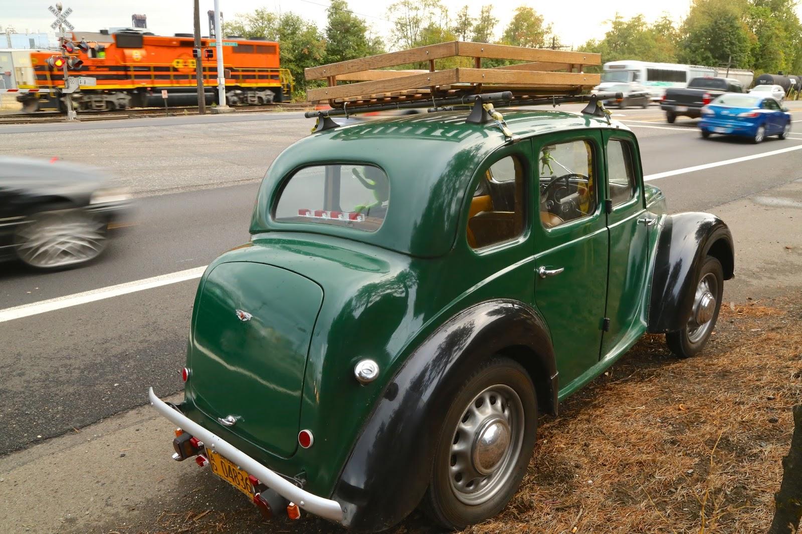 1948 Morris Eight Series E four-door saloon
