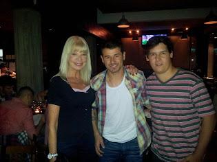 Grace, Rodrigo Mora (goleador de River) e Ignacio Mosso