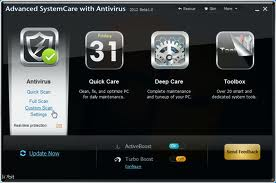 Advanced SystemCare + Antivirus 2013 v5.5 Full Version