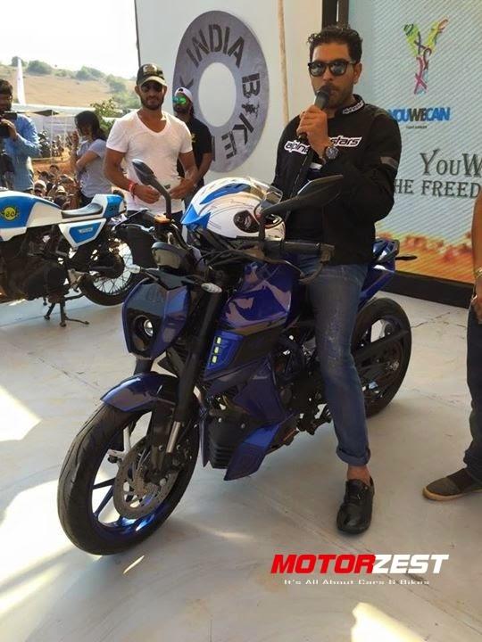 Yuvraj Singh At IBW 2015 Goa
