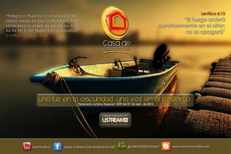 Nuevo Inicio Con Dios - Casa de Adoración 24/7 | Facebook