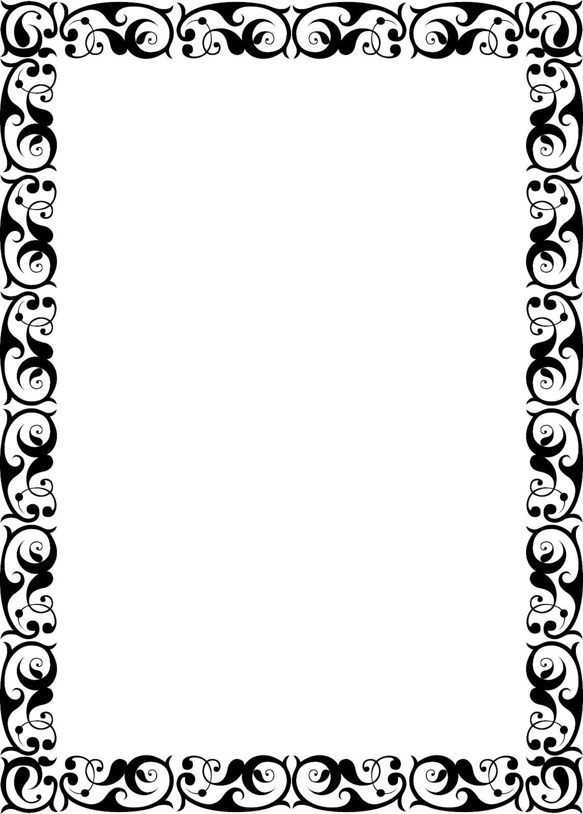 Gambar Bingkai Undangan Clip Art