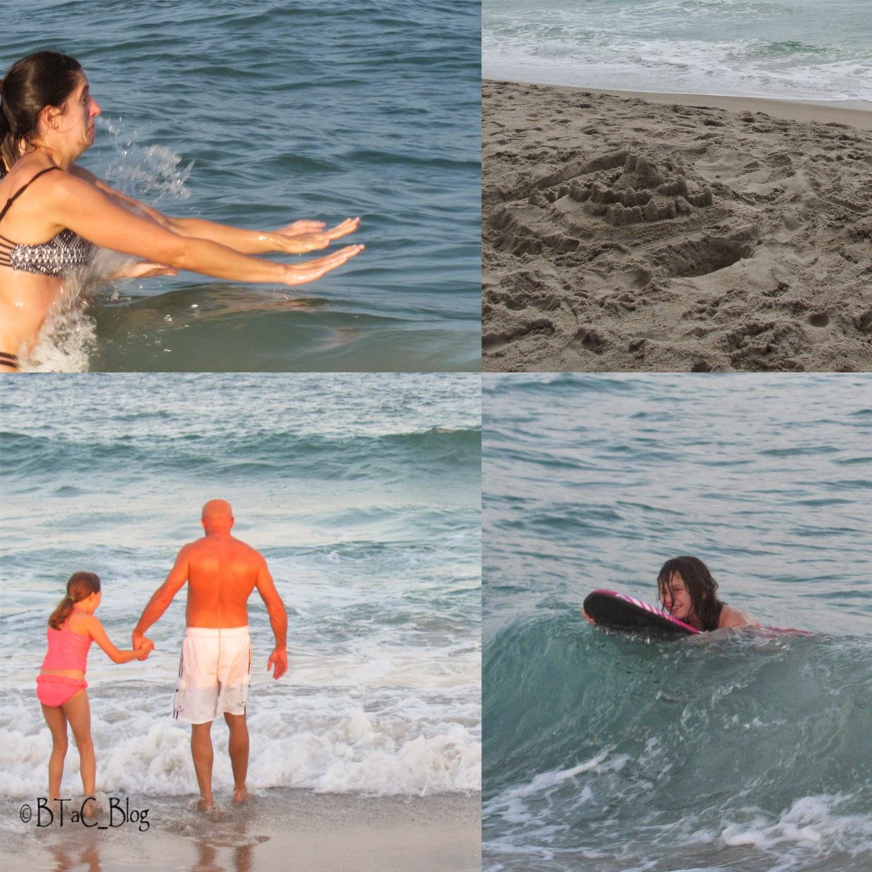 Hours of fun in the ocean!