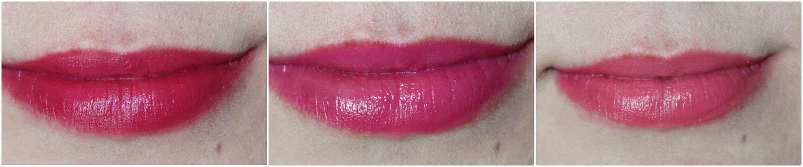 Lip Crayons On The Lips Swatch