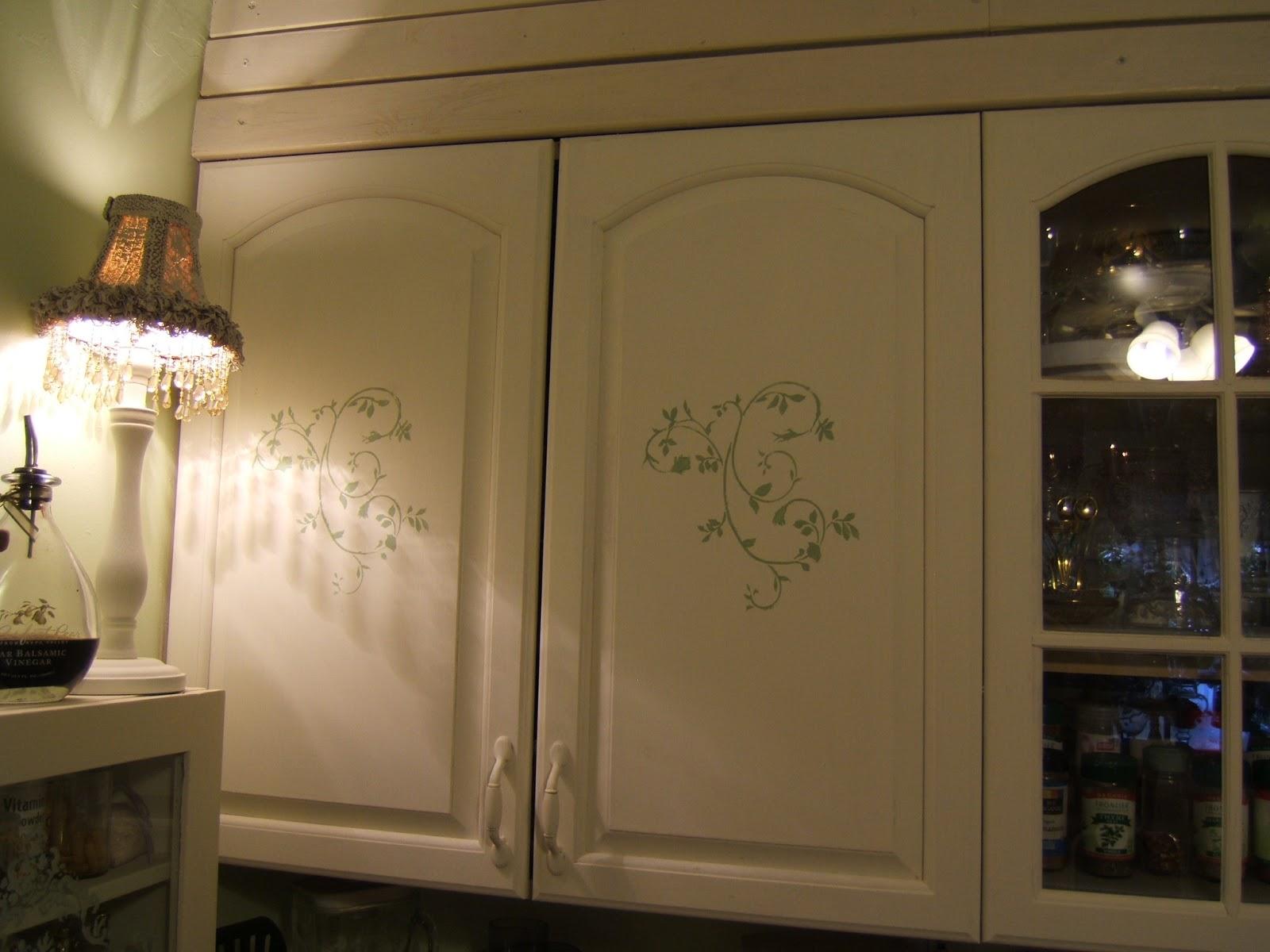 Stencils for Kitchen Cabinets