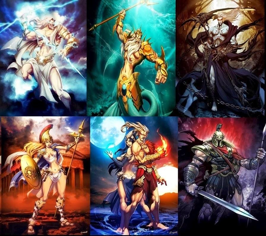 dioses olimpicos ~ DIOSES MITOLOGICOS