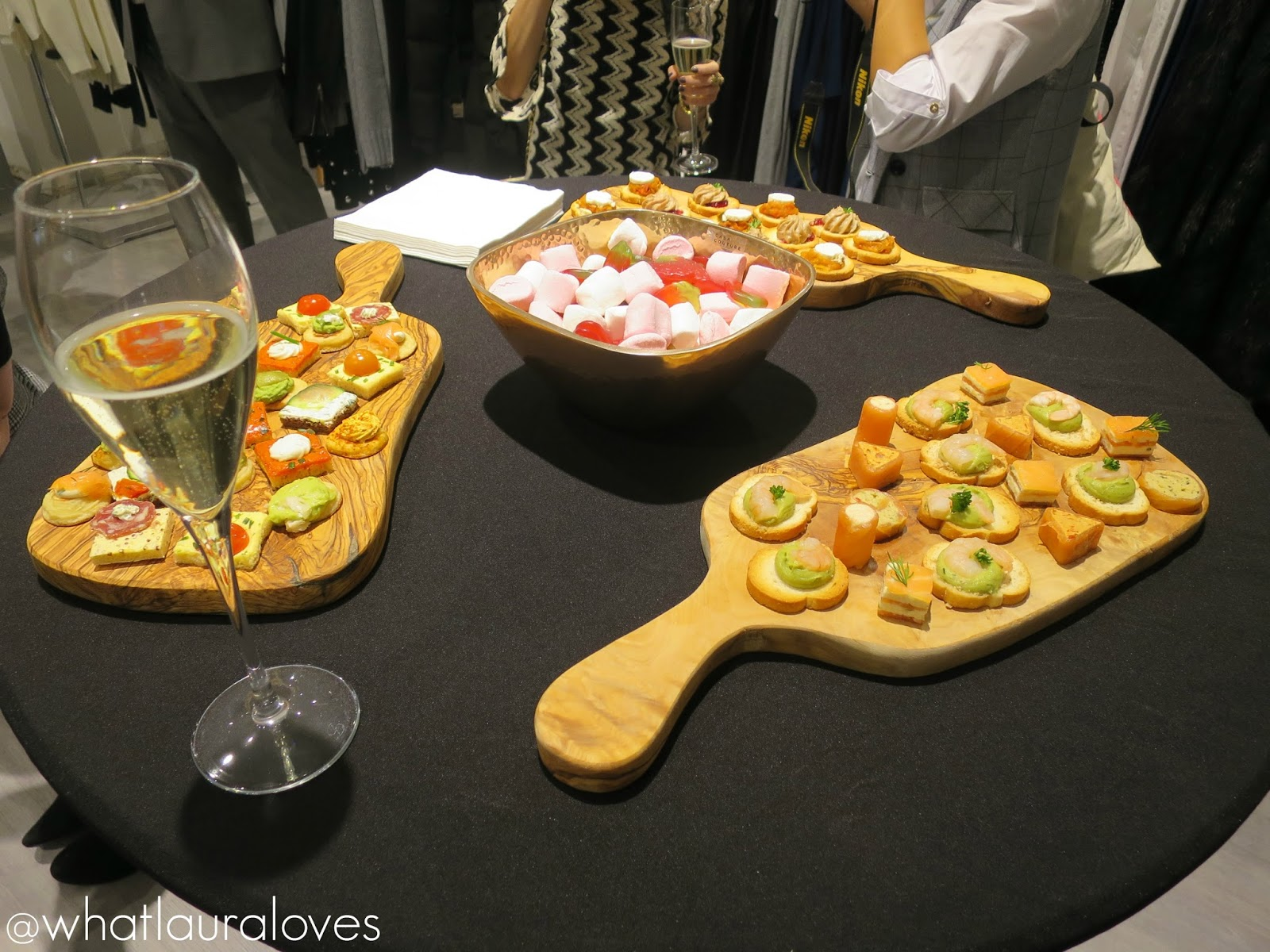 Canapés from House of Fraser