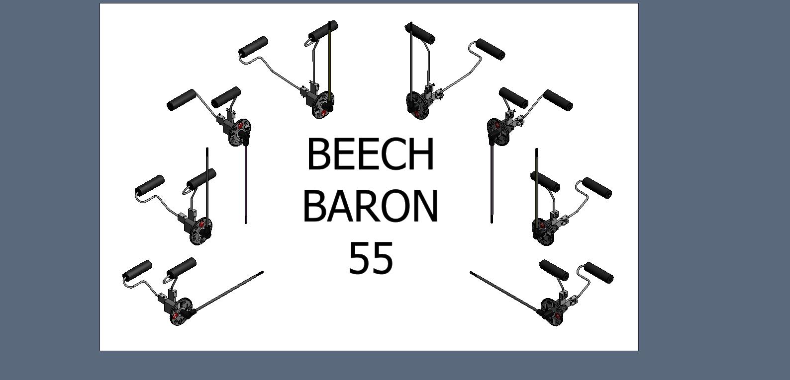 beechcraft baron b55