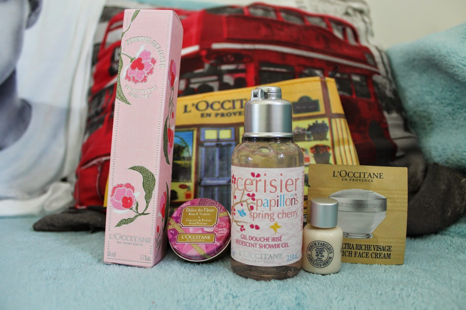 19th Birthday Haul L'occitane gift set