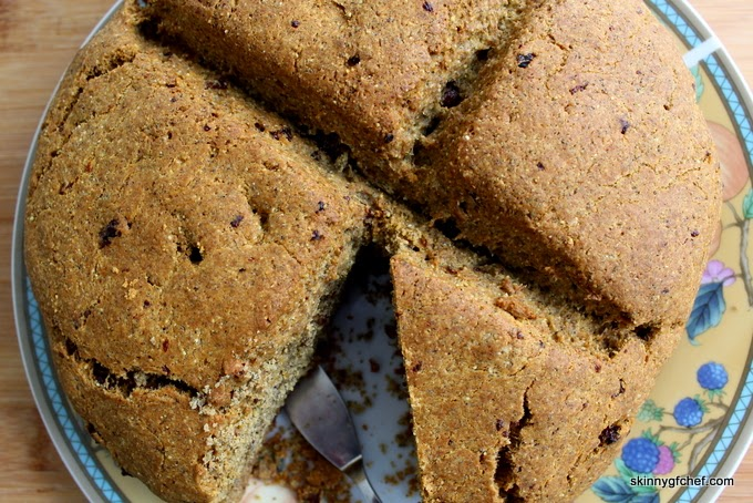 Make this incredible gluten free and yeast free Brown Bread for a quick treat or brunch!