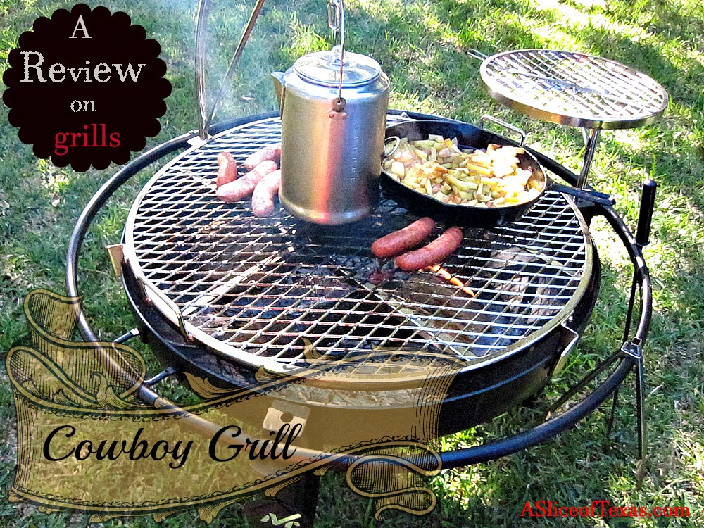 I'm going to briefly go over some various grills that we have been using,  and then a review on the new Cowboy grill. - A Slice Of Texas Blog : COWYBOY GRILL - Cooking Off Grid And REVIEW