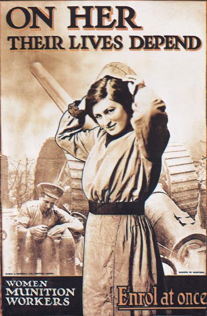 British recruitment poster World War I