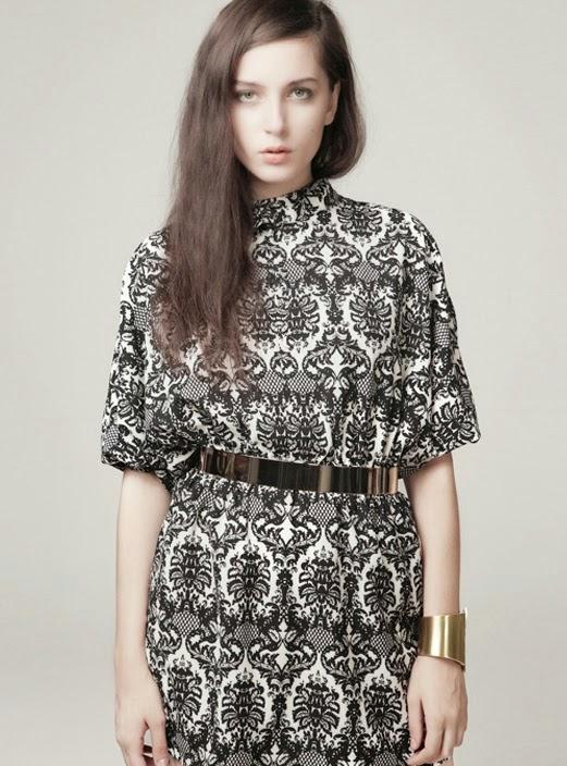 Vintage pattern dress