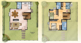 Mission Hills Antipolo Tulip Floor Plan