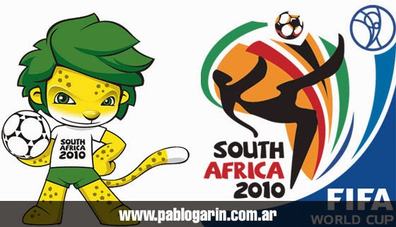 Logo y mascota mundial sudafrica 2010