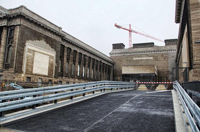 Baustelle Eingang Pergamon Museum, Am Kupfergraben, Bodestraße 1-3, 10178 Berlin, 10.12.2013