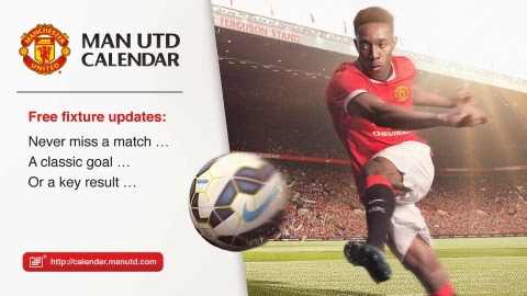Manchester United Calendar
