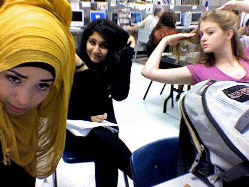 Cute Girl with Hijab
