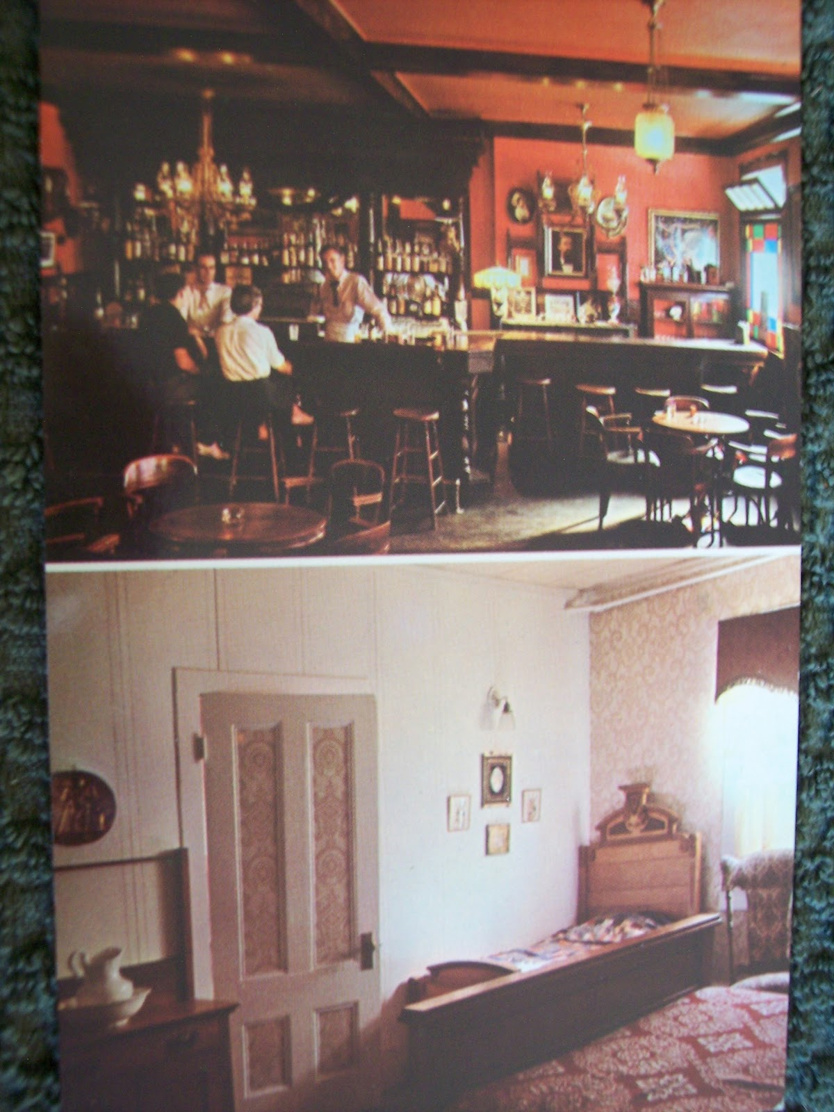 Above A Bit More Uncommon Postcard With Inside Shots Of The Bar And Guest Room National Hotel Louisiana House Finest In Hotels Since 1850 50