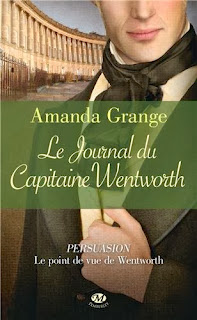 Couverture Le Journal du Capitaine Wentworth de Amanda Grange