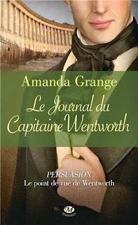Couverture Le Journal du Capitaine Wentworth de Amanda Grange
