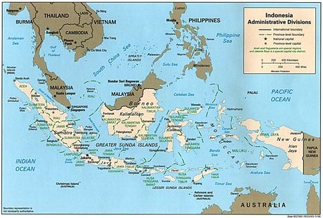 Negara Kesatuan Republik Indonesia peta