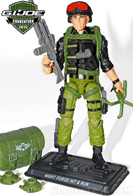 GI Joe 2013 Convention Exclusive Night Force Boxed Set - Hit & Run figure