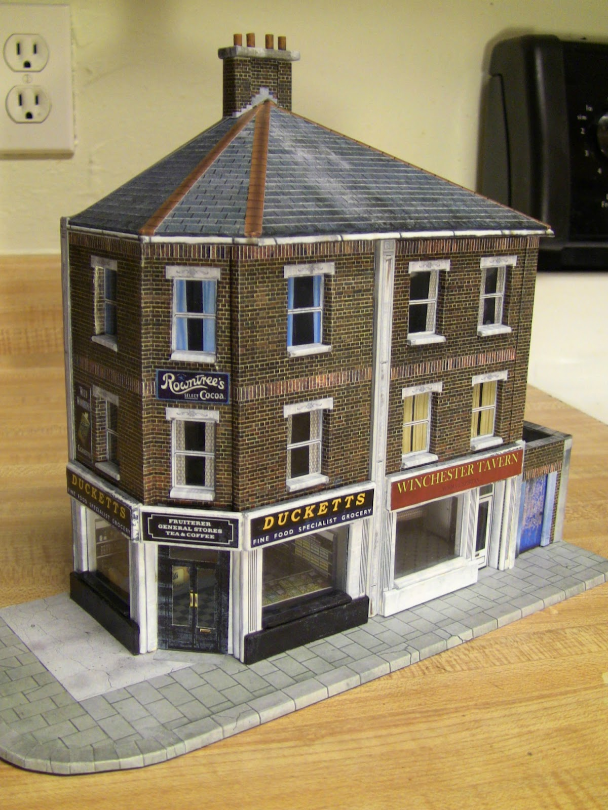Major thomas foolery 39 s war room corner shops for Whats a terraced house