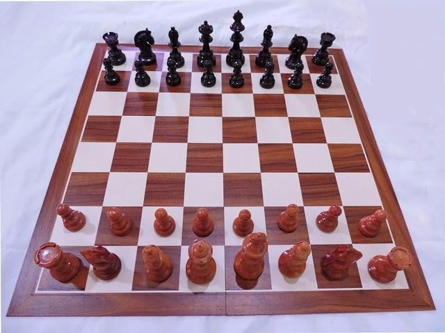 papan catur yang dipakai grandmaster