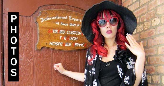 La Carmina Goth Hair And Makeup Tutorials Mermaid Rainbow Colored Hairstyles Nail Art Travel