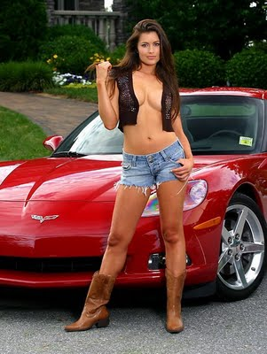 Sexy Girl With Hot Cars Wallpapers