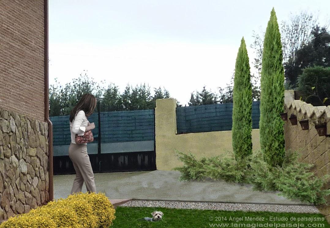 Evacuaci n de aguas dise o de jard n en hormigos toledo for Diseno virtual de jardines gratis