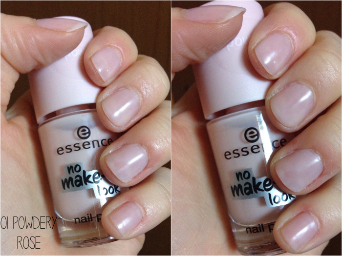 Memento Mori: Essence No Make-up Look Nail Polish in 01 Powdery Rose