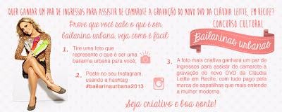 Concurso Cultural  Dafiti - Bailarina Urbana