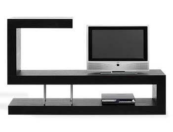 Decoraci n minimalista y contempor nea muebles - Mesa para tele ...
