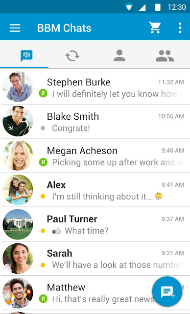 Download BBM 290.0.1.217 Beta Material Design Official Untuk Android