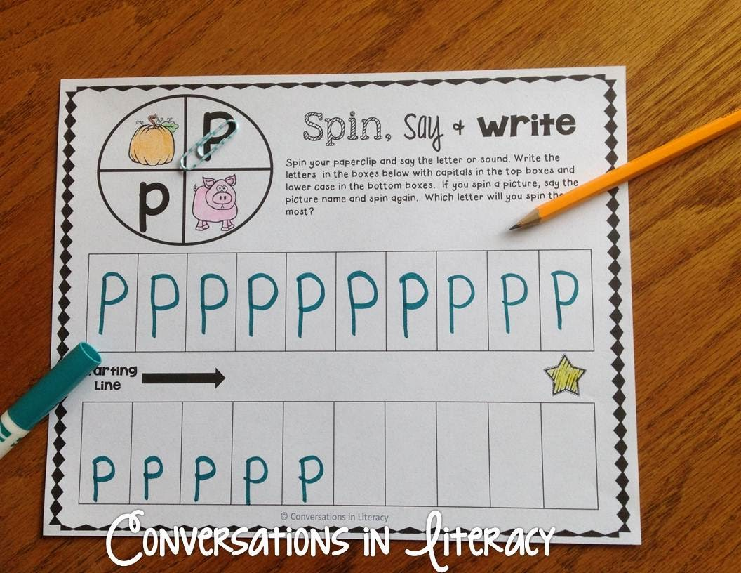 Spin your way to learning ABCs